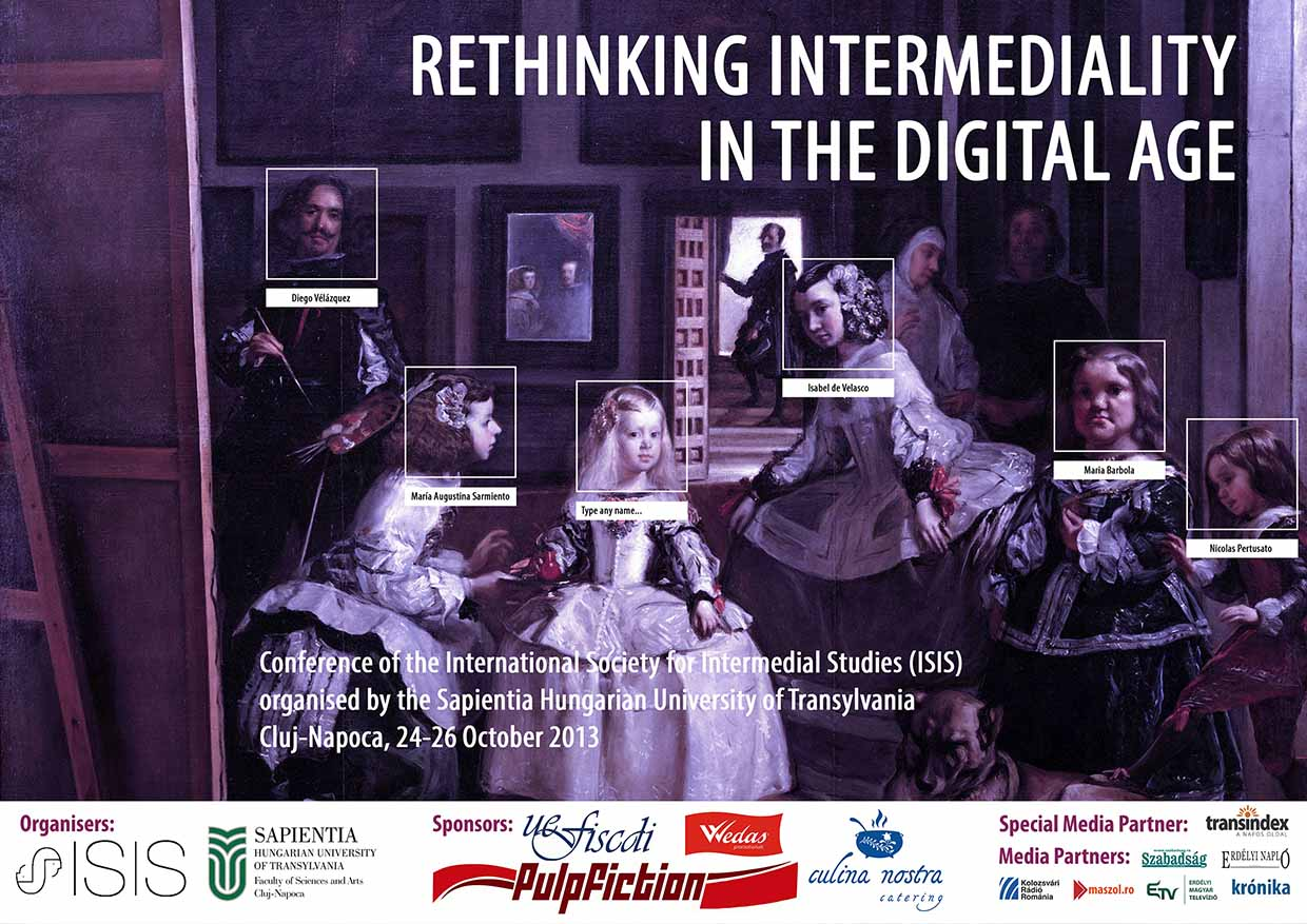 ISIS inaugural conference - Rethinking intermediality in the digital age - 2013