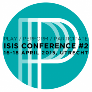Group logo of ISIS #2 Conference – Play / Perform / Participate (Utrecht, 2015)
